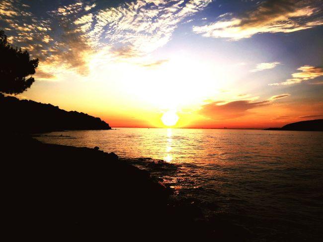 Witnessing good moments,chasing memories..Sunset Island Princeislands Sea And Sky Skyporn Clouds And Sky Sunset_collection Camping Nature Eyeemnaturelover Enjoying Life EyeEmbestshots TheWeekOnEyeEM JunePhotoChallenge Eyeem2016 Eyeemawards16