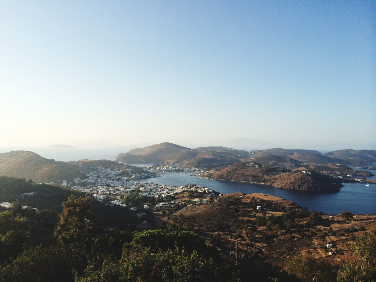 Beautiful stock photos of sonnenschein, Greece, Leipsoí, beauty in nature, blue