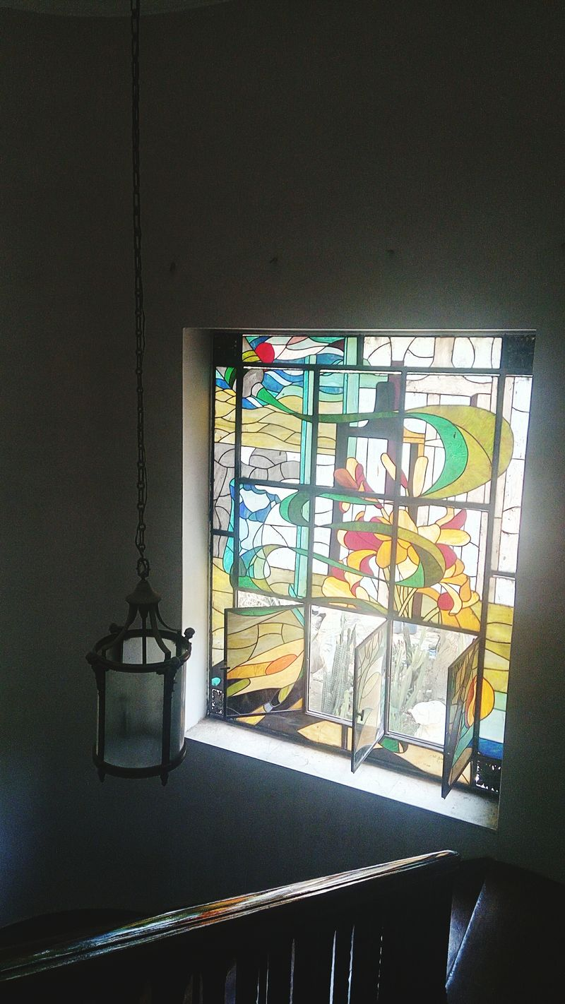 Fine Art Cairo Egypt Colorful Glass Art Is Everywhere Nonie Indoors  Architecture No People Summer