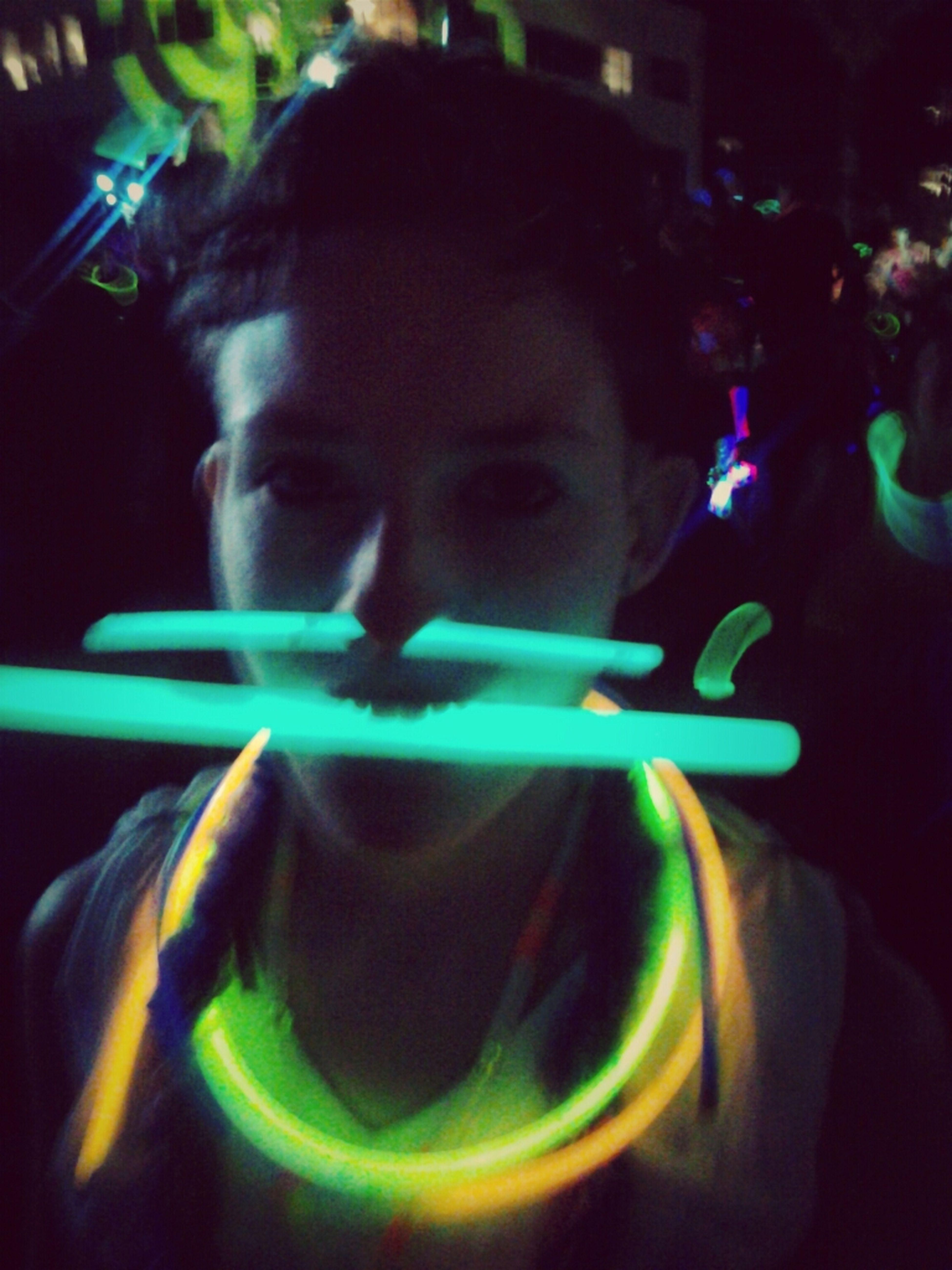 Glowstick Septum Ring