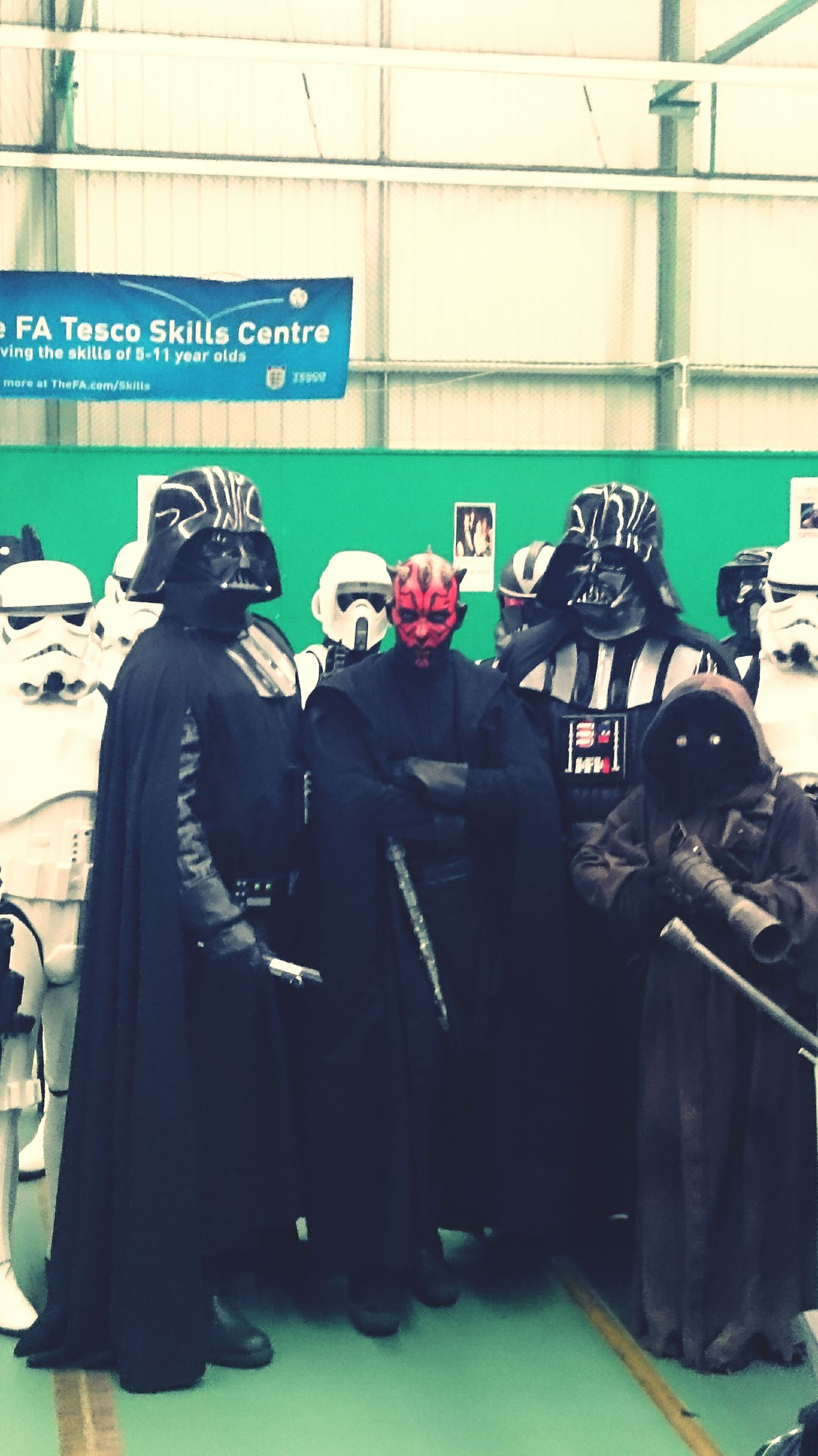 Peoplephotography Darth Vader Darth Maul Comiccon