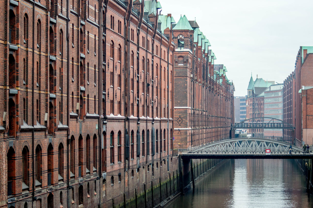 Architecture Brick Building Building Exterior City Hamburg Speicherstadt Speicherstadt Hamburg Travel Destinations Warehouse Warehouse District Water Waterfront