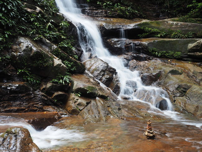 Beauty In Nature Blurred Motion Long Exposure Motion Nature Sarawak Malaysia Scenics Tranquil Scene Tranquility Waterfall
