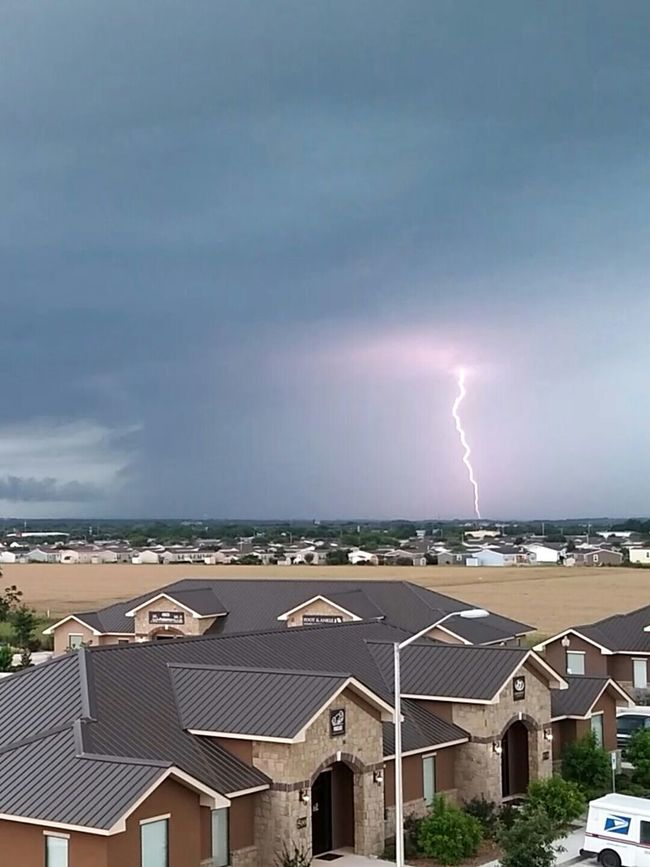 Mother Natures Artwork Thunderstorms New Braunfels Texas Unedited Stormsky