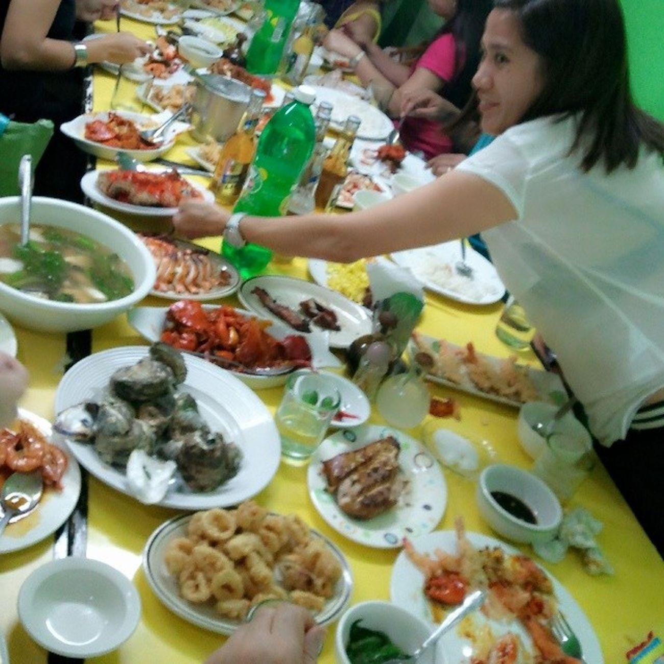 Seafood busog