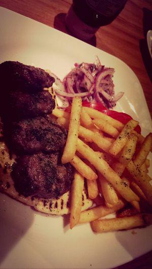 好吃的土耳其米布丁。