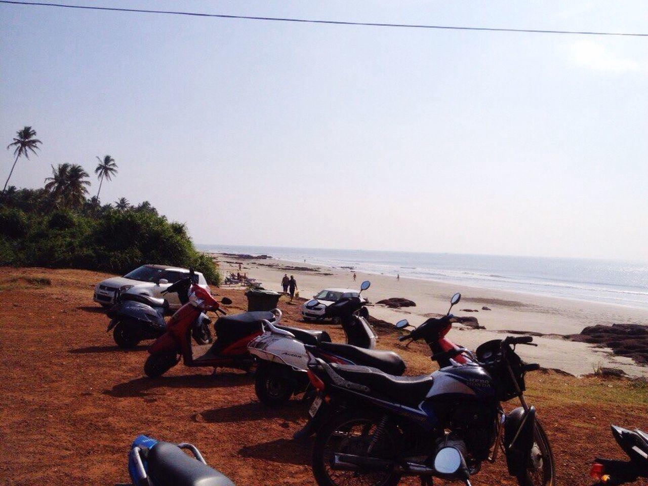 Ocean Beach Landscape Goa Ashvem