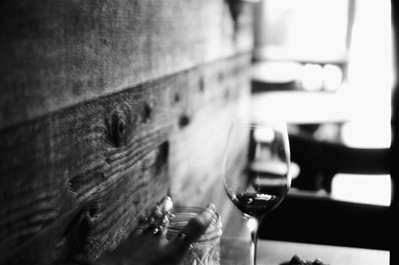 Film Film Photography Indoors  Wine Blk N Wht Koduckgirl Bokeh Photography