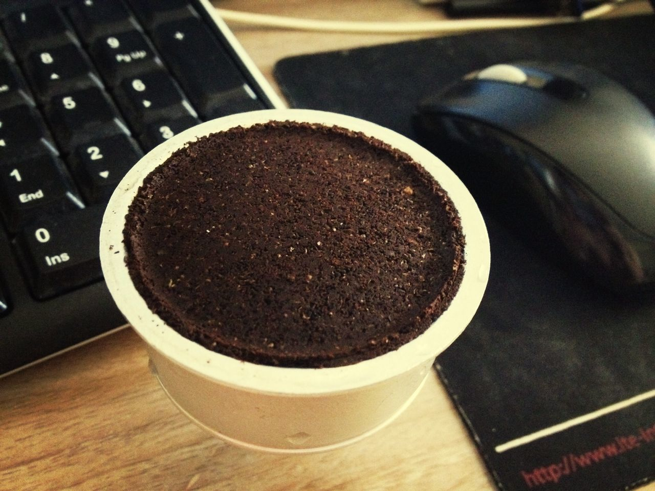 coffee - drink, ground coffee, coffee cup, indoors, no people, food and drink, brown, close-up, drink, freshness, frothy drink, food, day