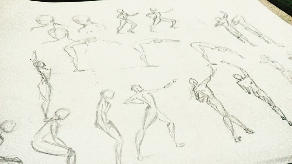 Basicmovements Bodymovements Practice Sketch Animation Inbetweening