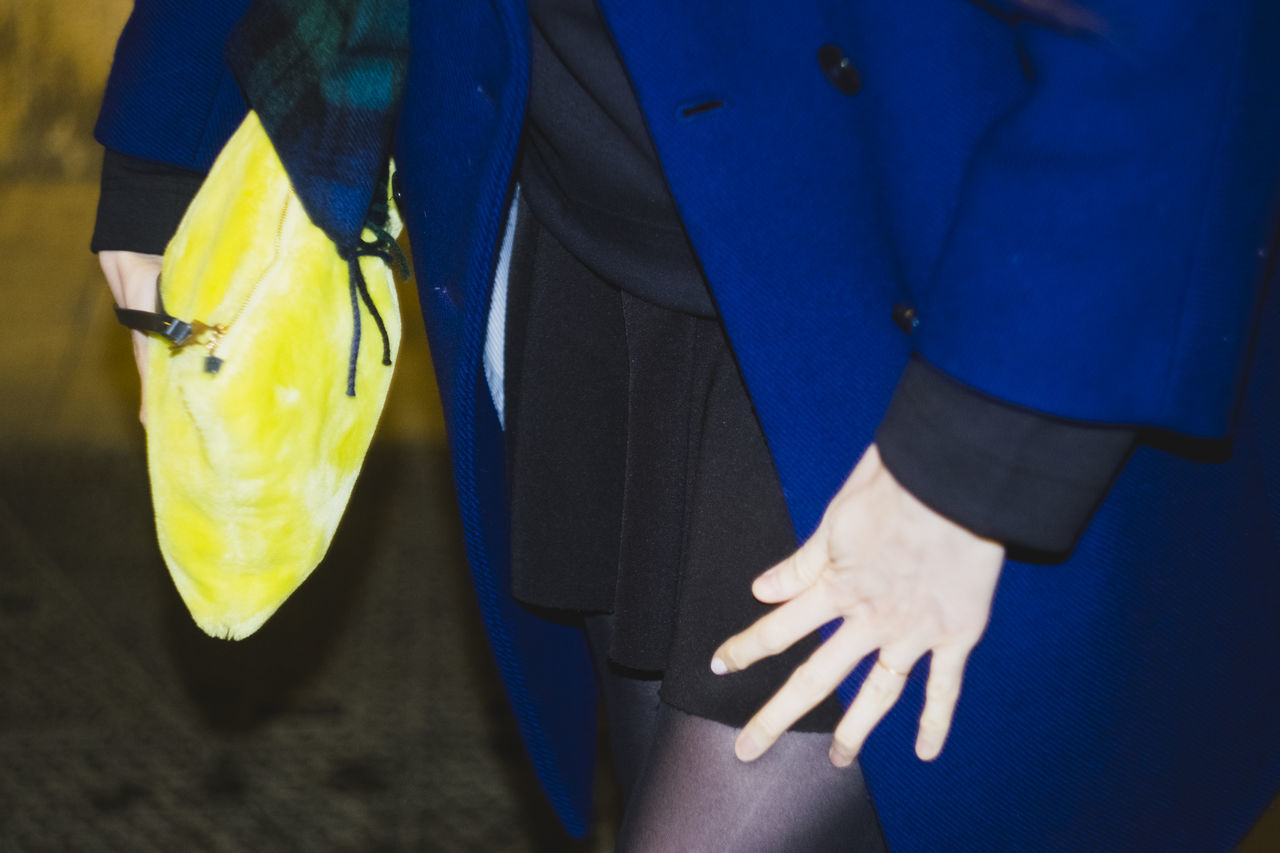 One Woman Only Midsection Fashion Only Men Yellow One Person People Adults Only Adult Close-up Woman Day Human Body Part Outdoors Low Section Human Hand Night Skirt Purse Venus In Furs BYOPaper!