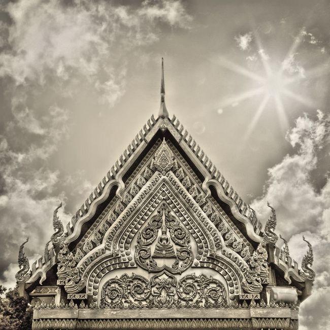 Buddhist Temple Monoart Thailand_allshots Monochrome Monophotography