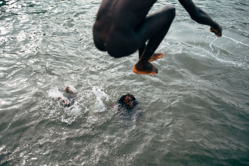 Africa Africa Day To Day African Beauty High Angle View Human Leg Island Leisure Activity Low Section Nature Outdoors Sao Tome Swimming Water