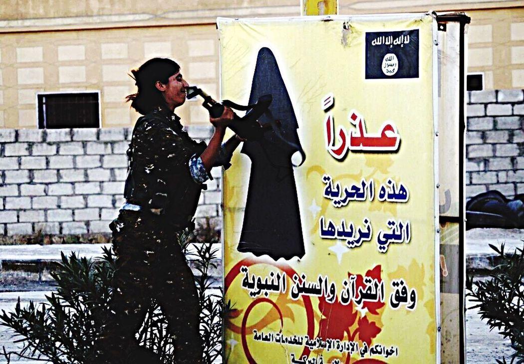Fuckisis YPJ Kurdish Women Heroine