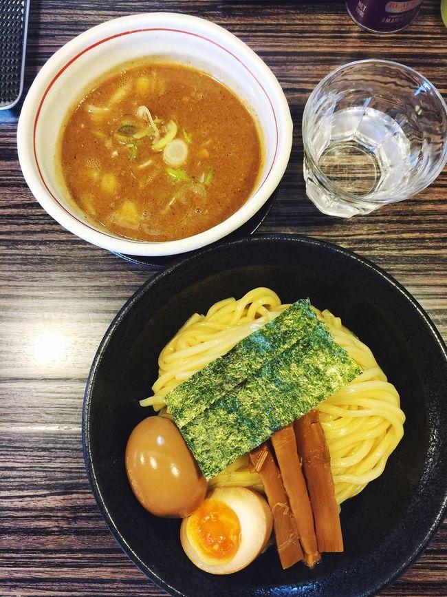 京都市伏見区「ラーメンきらり」へ。つけ麺大盛りです☆テキパキとカウンター内で働く店主さんの姿に、惚れた(笑) ラーメン Ramen ラ女子 Vscocam #vsco ラヲタ Kyoto