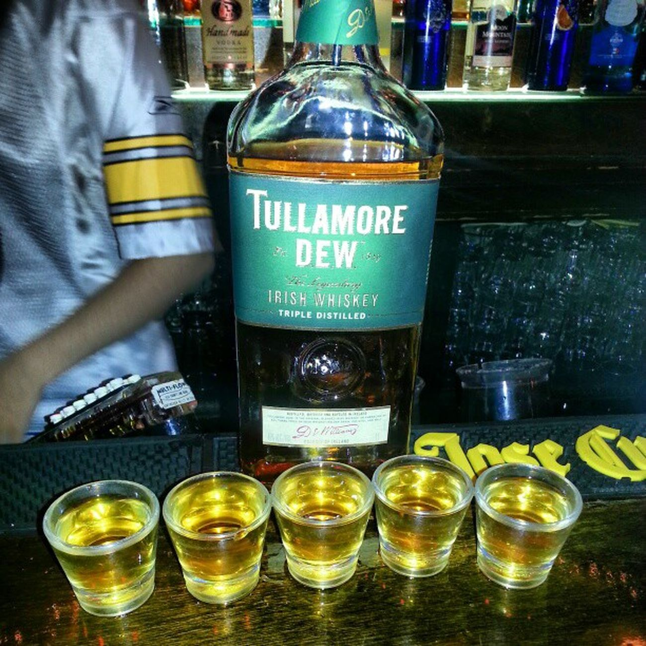 Recommended by my bartender NYC Nycalive LOL Dayumm shots whiskey goodtimes goodfriends citylife crazy