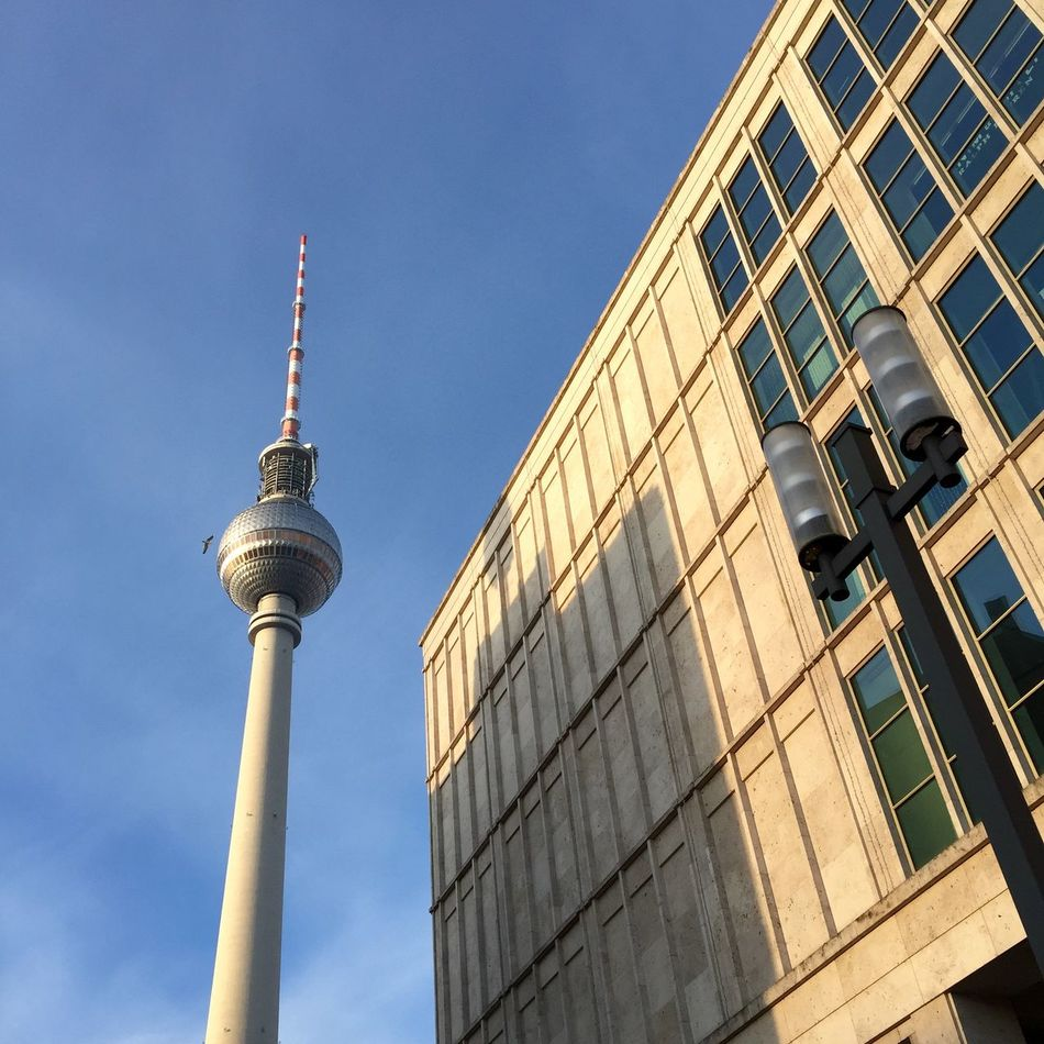 Beautiful stock photos of television, Architecture, Berlin, Blue, Building