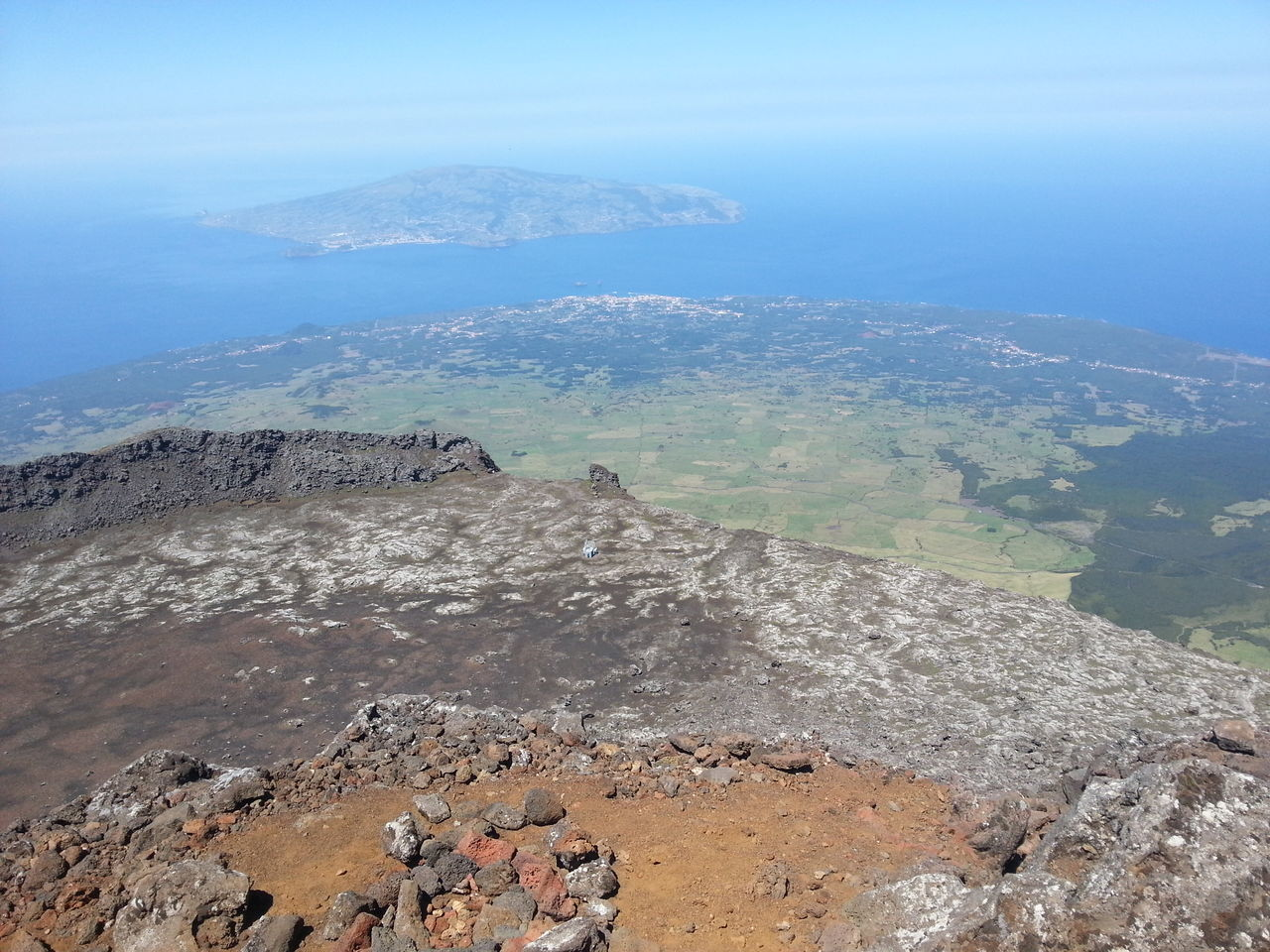 Arid Climate Azores Beauty In Nature Day Geology Landscape Lava Mountain Nature No People Non-urban Scene Outdoors Physical Geography Picoftheday Picotop Scenics Sky Tranquil Scene Tranquility Viewfrommountain