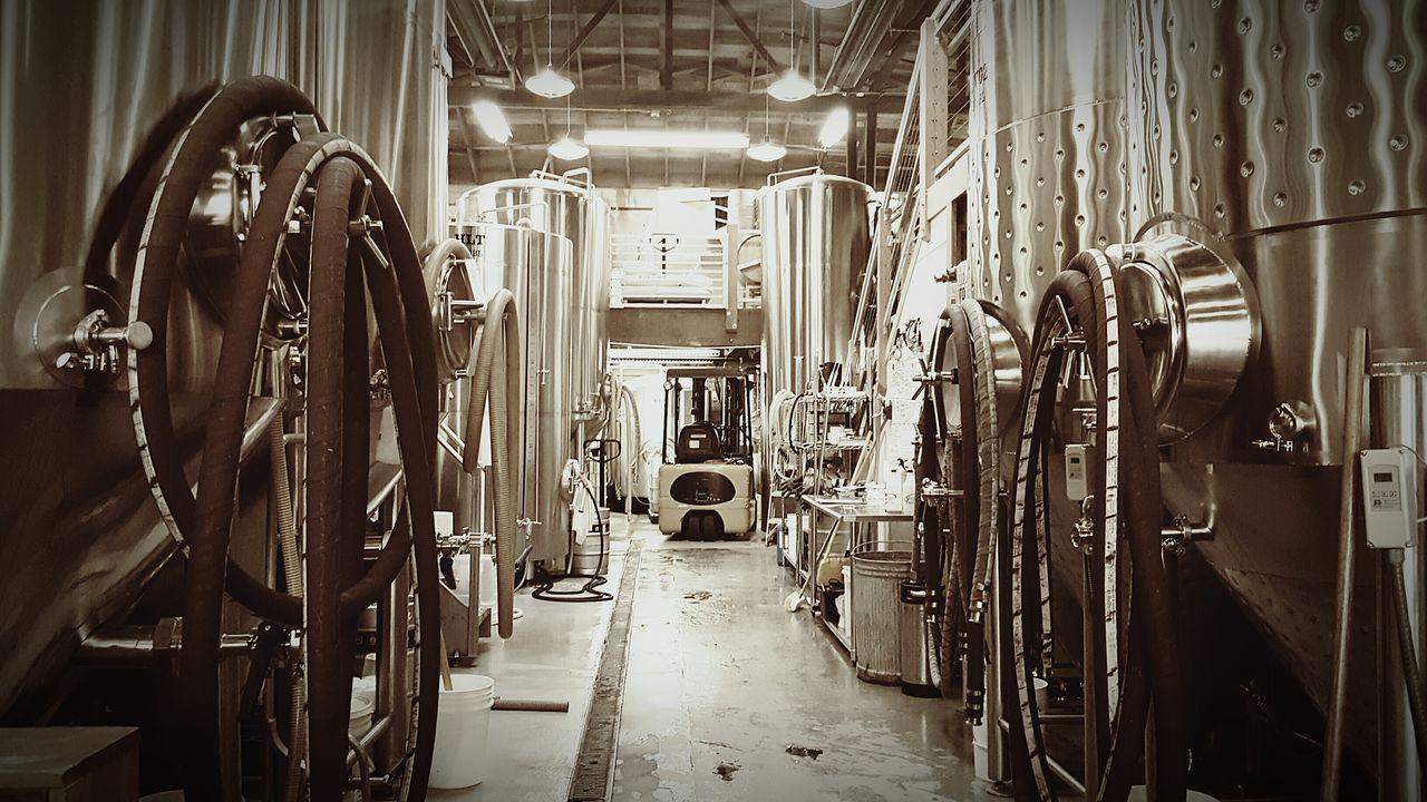 indoors, factory, machinery, no people, vehicle seat, illuminated, day