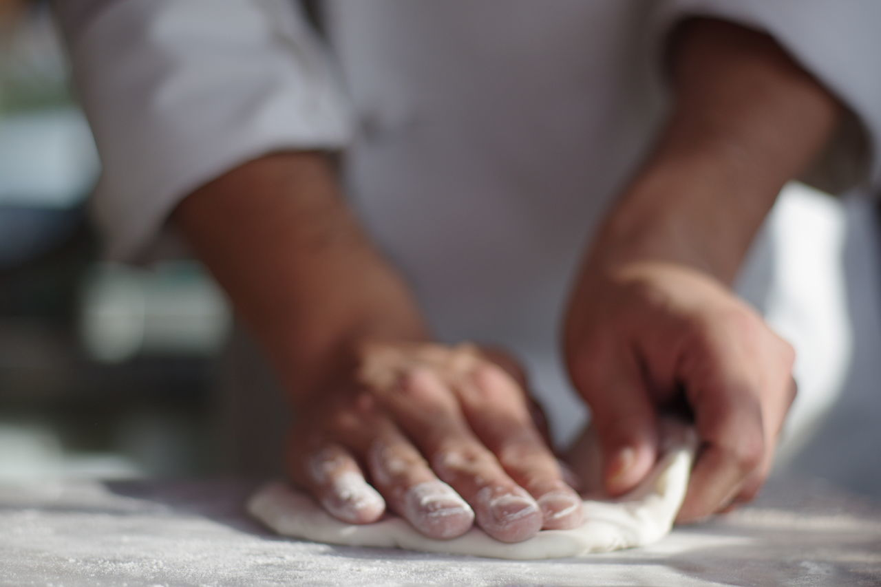 Beautiful stock photos of pizza, Bakery, Chef, Commercial Kitchen, Dough