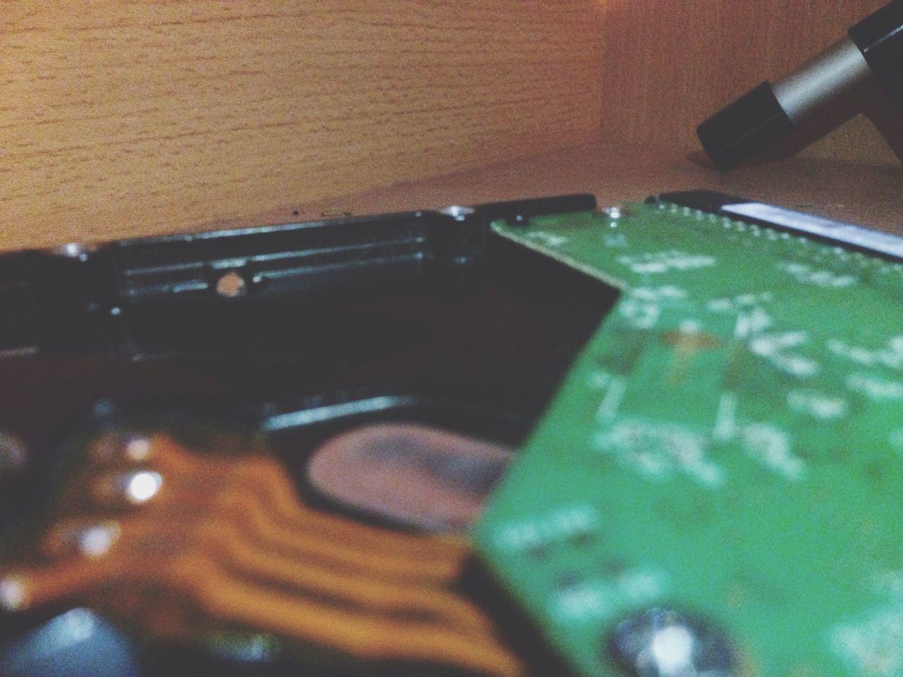 Close Up Technology Blur Hdd Tehnology