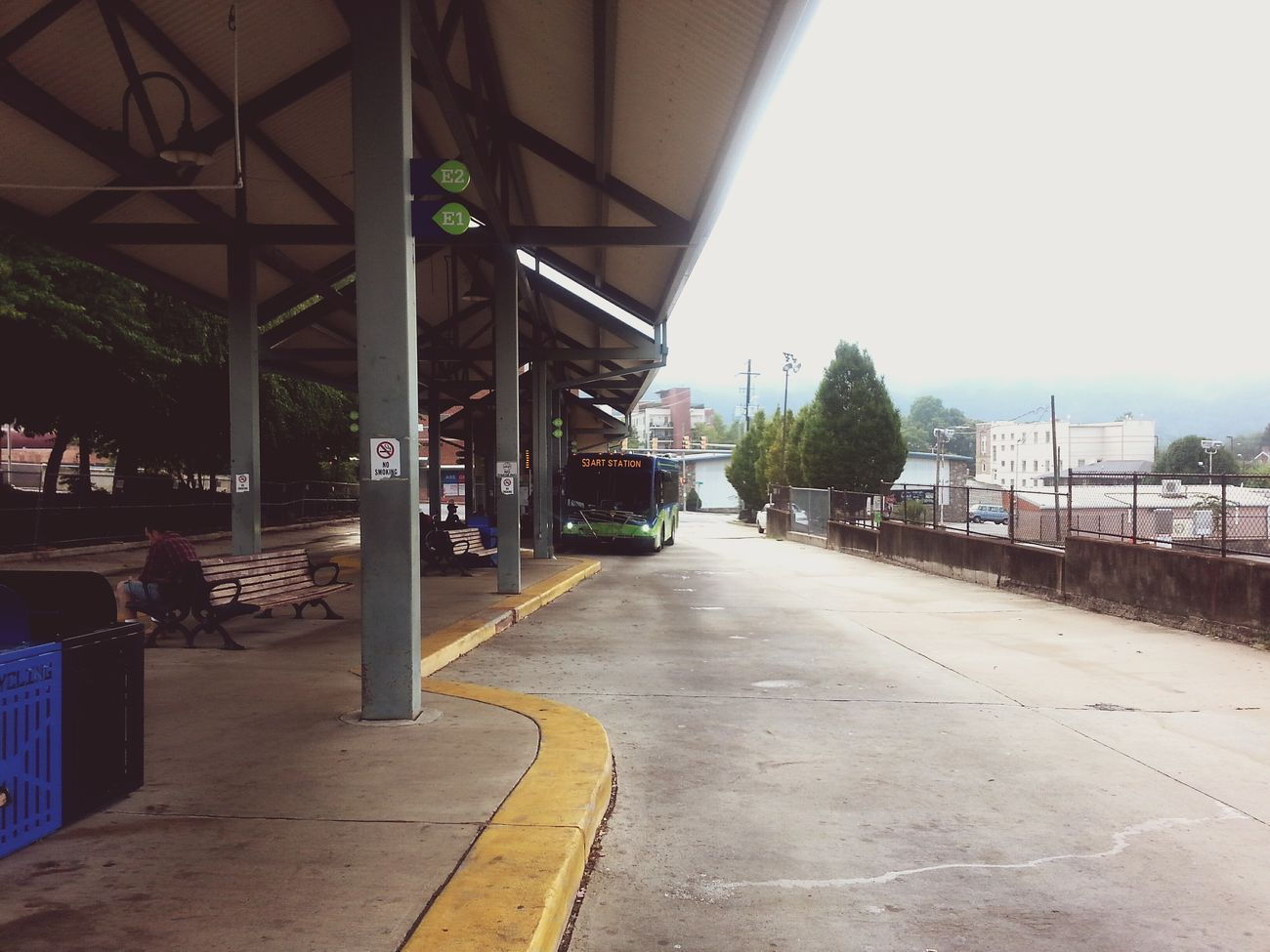 At the Asheville Transit Station starting my day Loving To Drive The Bus Accem Scott Asheville, NC First Eyeem Photo