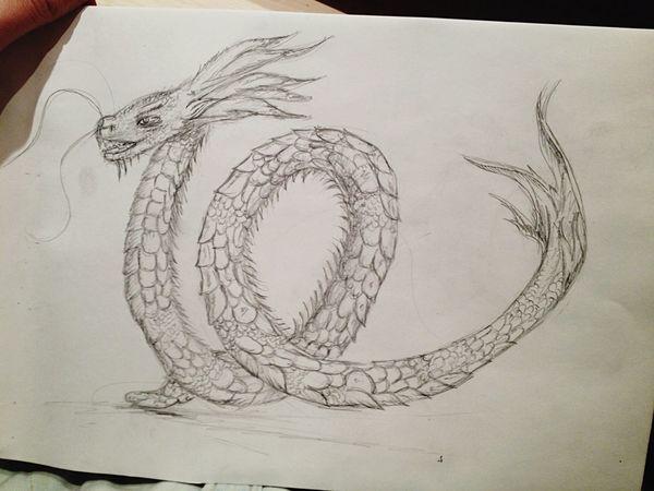 Draw Drawing Dragon Art
