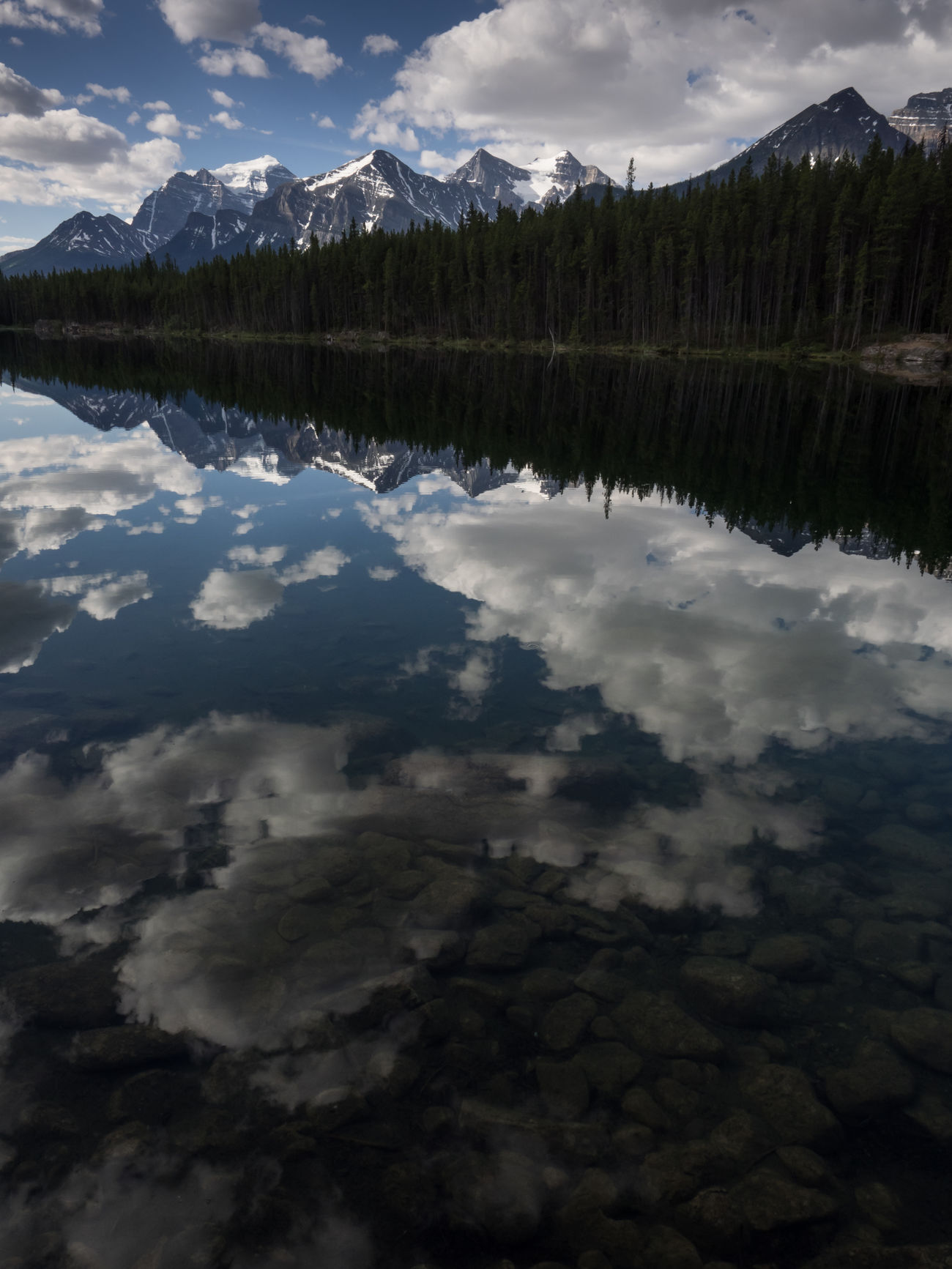 Alberta Beauty In Nature Canada Cloud - Sky Day Forest Lake Landscape Lanscape Mirror Lake Mountain National Park Nature Nature Nature Photography Nature_collection No People Outdoors Reflection Scenics Tranquil Scene Tranquility Tree Water Wilderness