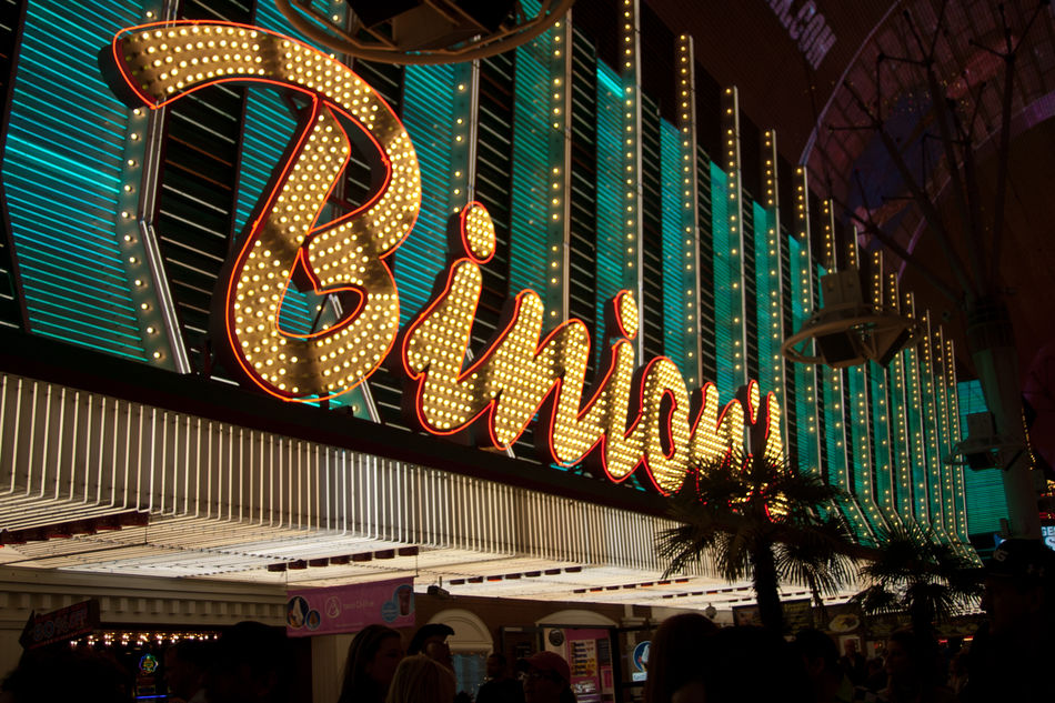 Binion's at night Binion's Casino Casino Night Downtown Las Vegas Fremont Street Historic Building Las Vegas Las Vegas Casino Neon Lights Night Lights Travel Destinations Travel Photography