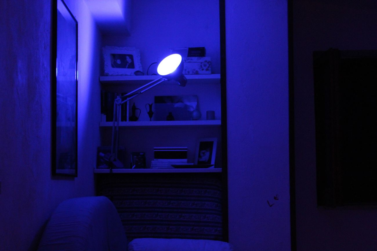 Illuminated Indoors  No People Night Light Bluelight First Eyeem Photo
