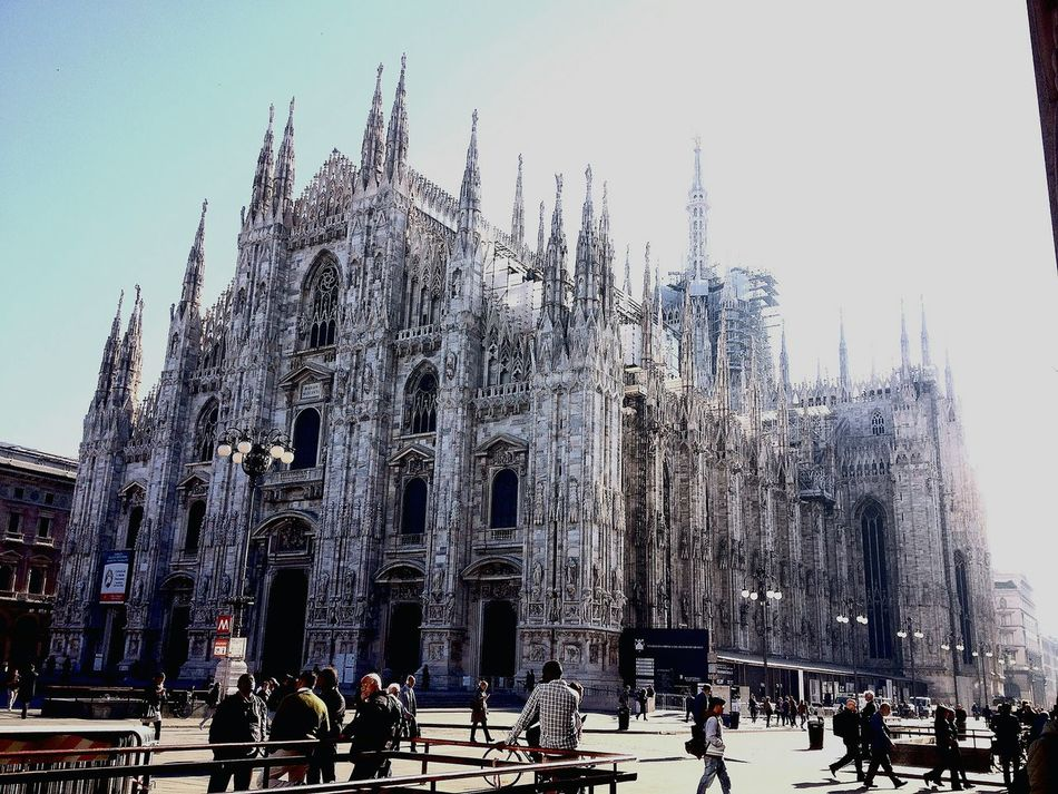 Milano Duomo Di Milano Italy Amazing View Architecture Morning Light Europe Fromitalywithlove