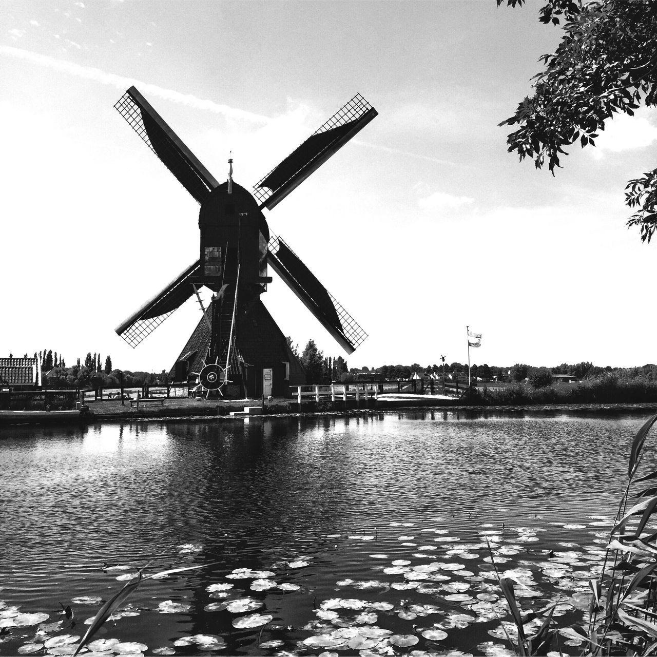 Windmill Blackandwhite Renewable Energy Architecture Blackandwhite Photography