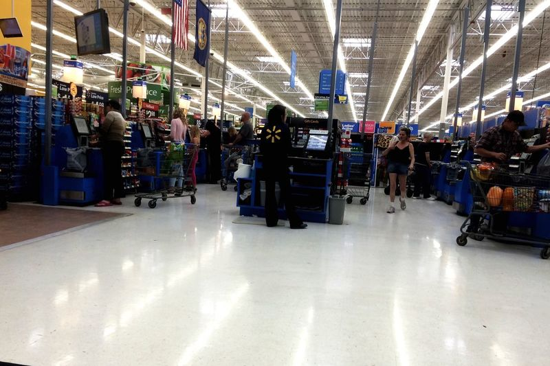 Portrait Of America Picture America Walmart Madness