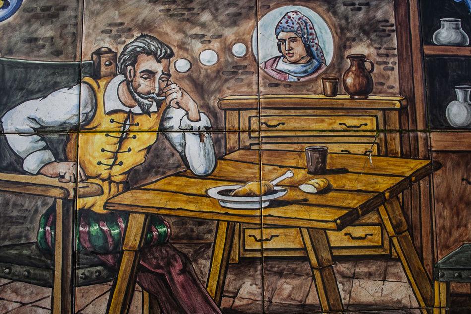 Art Ceramics Creativity Day Multi Colored No People Ornate Pottery Pottery Talavera Quixote Street Art Tiling