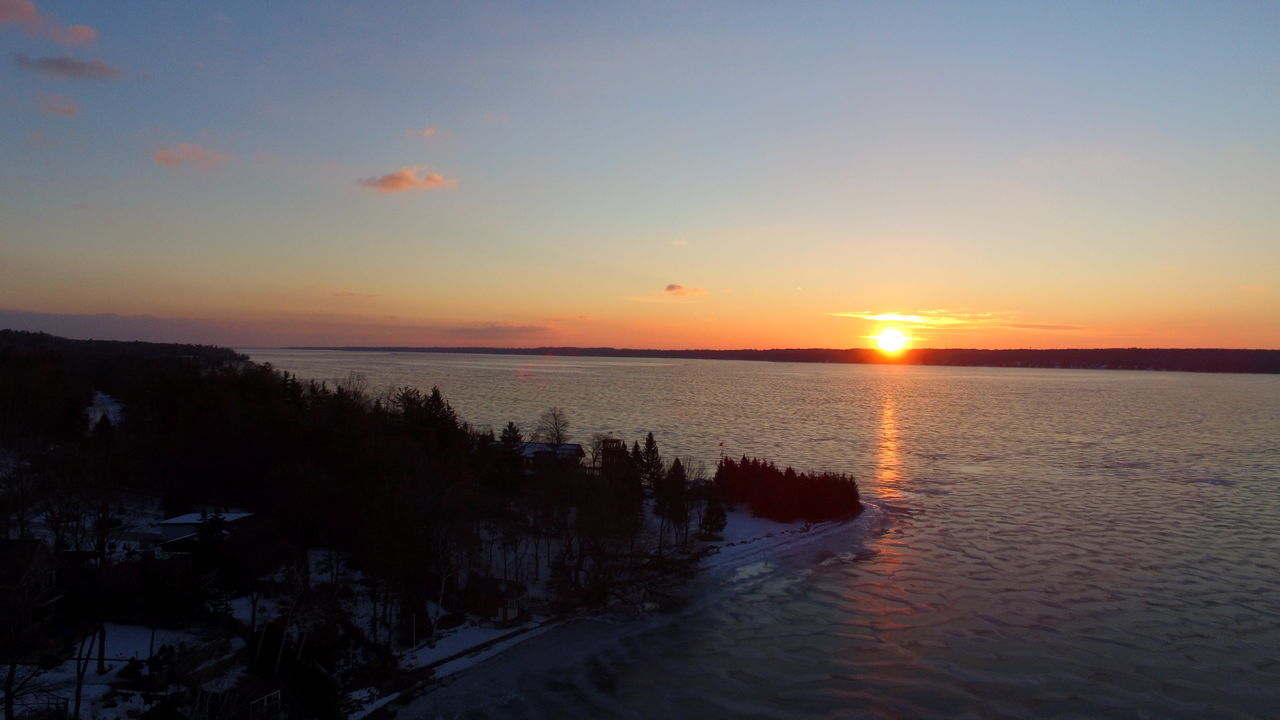 Blue Sky Drone  Dronephotography Droneshot Horizon Over Water Ice Ice Patterns Reflection Sunrise Winter
