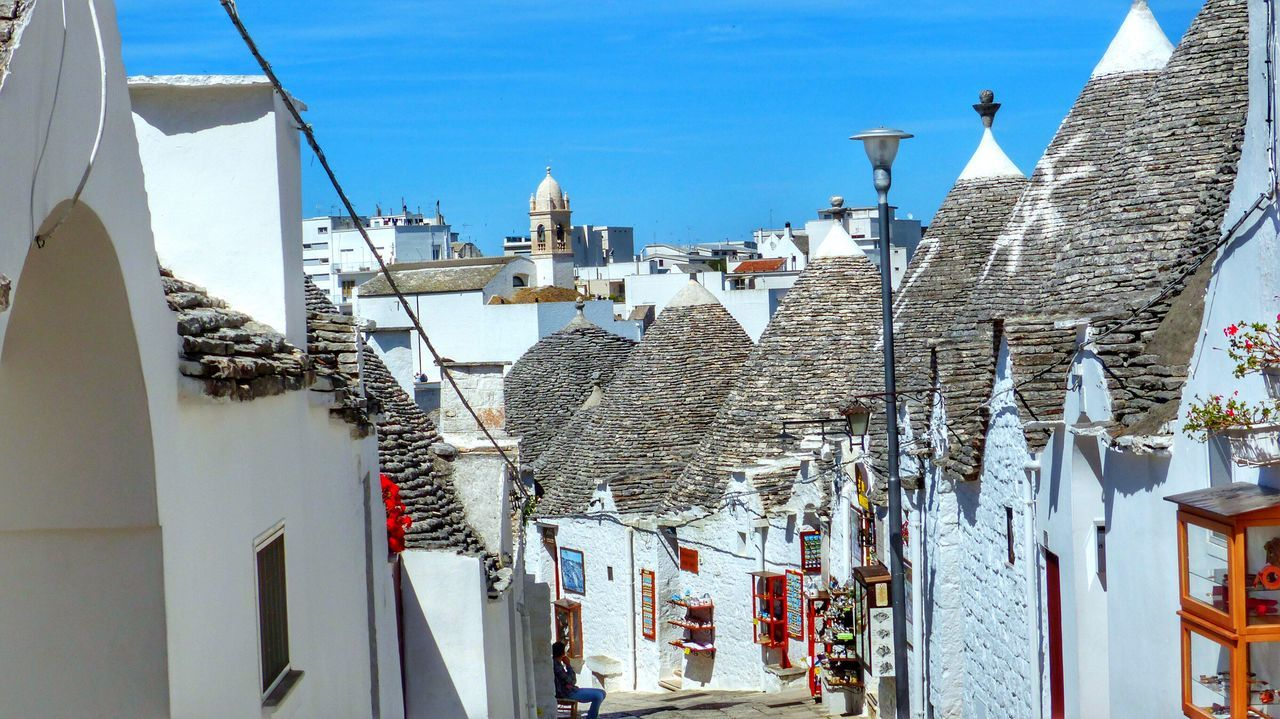 Beautiful stock photos of haus, Alberobello, Architecture, Building Exterior, Built Structure