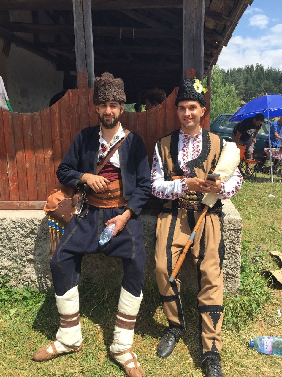 Bulgarian Costume Bulgarian Costumes Bulgarian Traditions Bulgarian Folklore Folklore Bulgaria Real People Adults Only Men Males