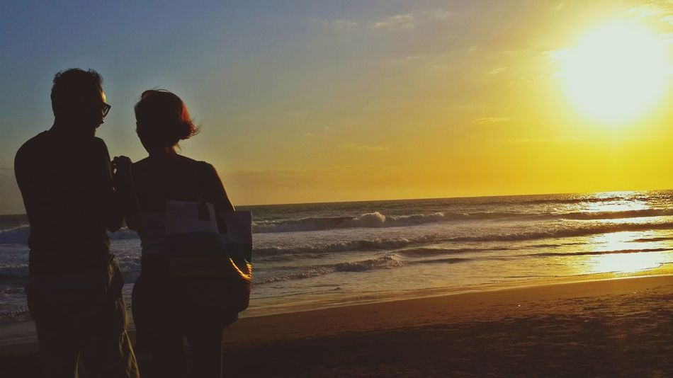 Life Is A Beach Sunset
