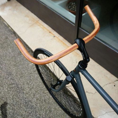 Design Wood Handmade Bike Handlebar