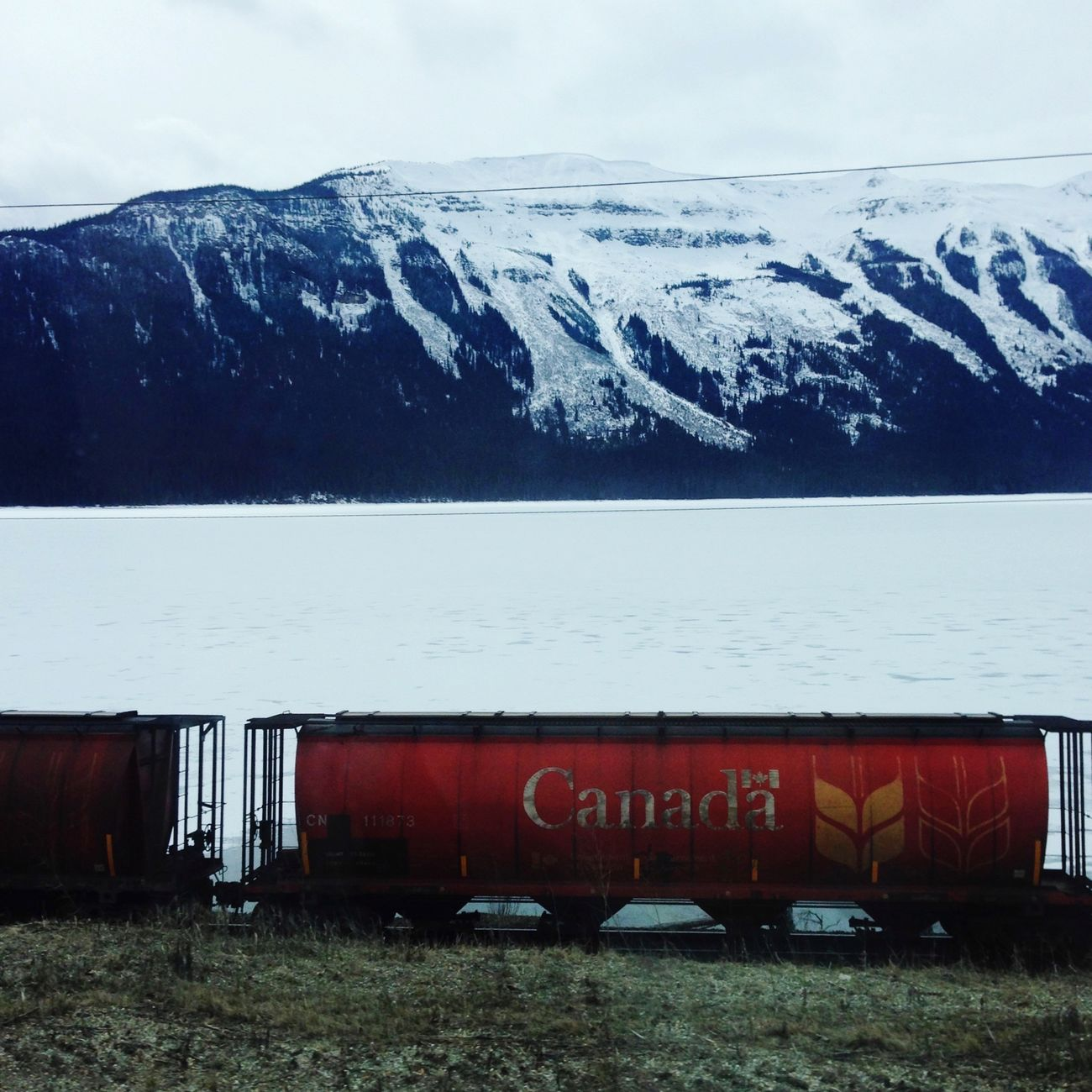 The Journey Is The Destination Moose Lake Fraser-Fort George British Columbia 8 hour Drive. Alberta Train CP Rail