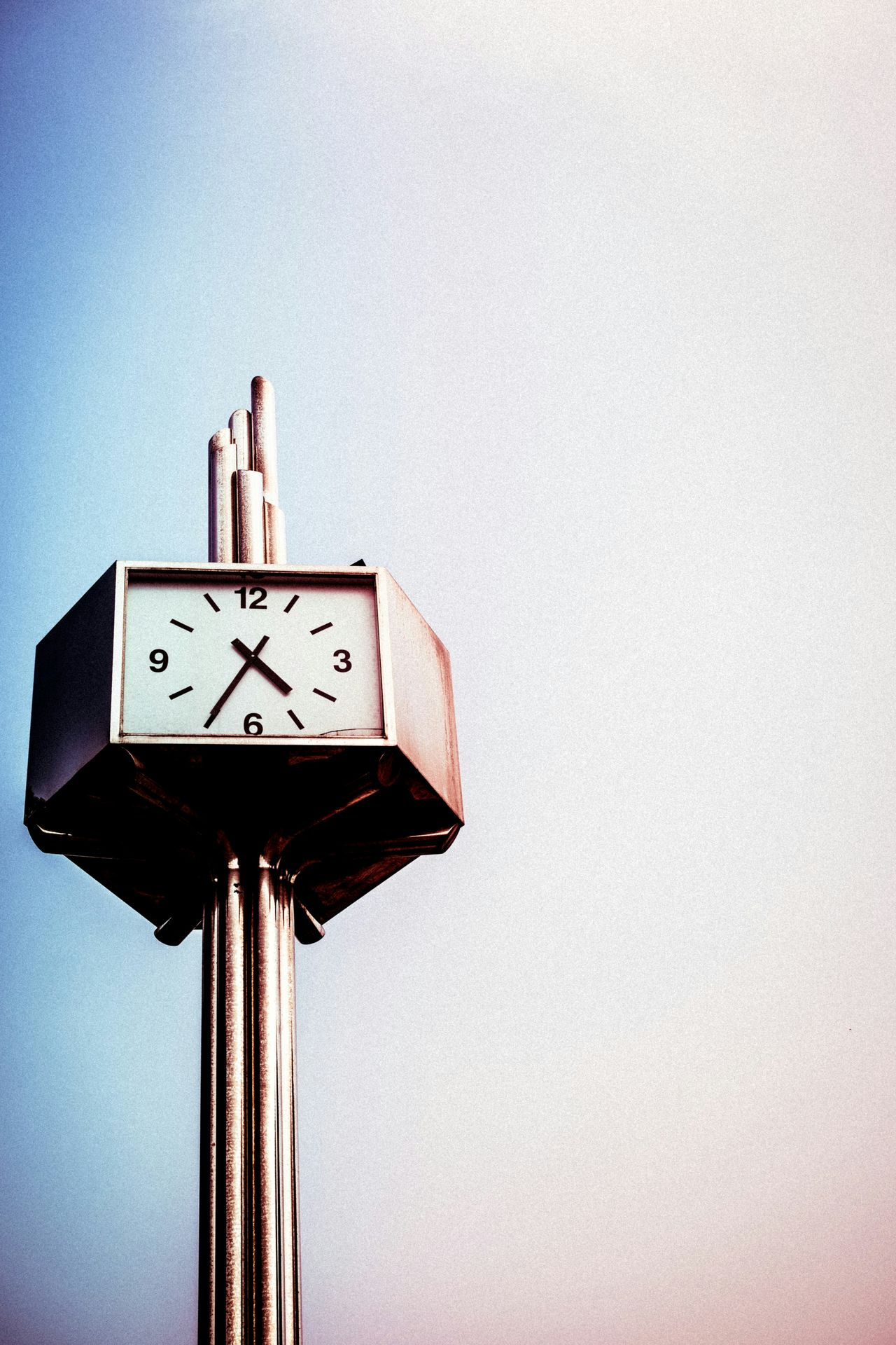Beautiful stock photos of time, Clear Sky, Clock, Concepts & Topics, Copy Space