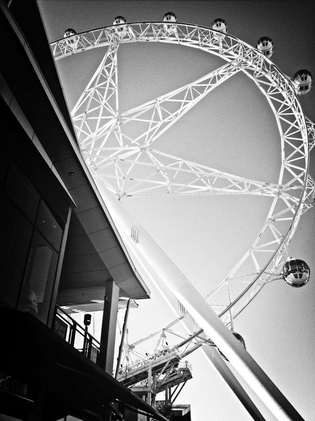 melbourne star Blackandwhite My City Winterwhitebycanvaspop AMPt_community