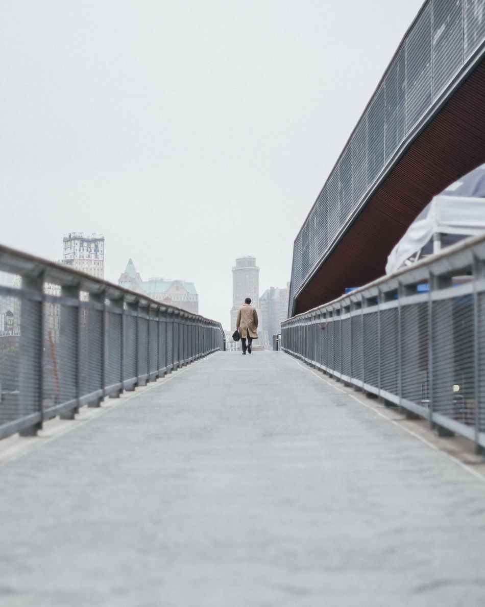 Beautiful stock photos of street photography, Architecture, Bridge - Man Made Structure, Built Structure, Clear Sky