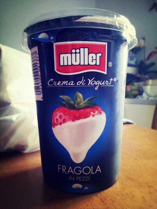 Müller, fate l'amore con il sapore Strawberry Yogurt