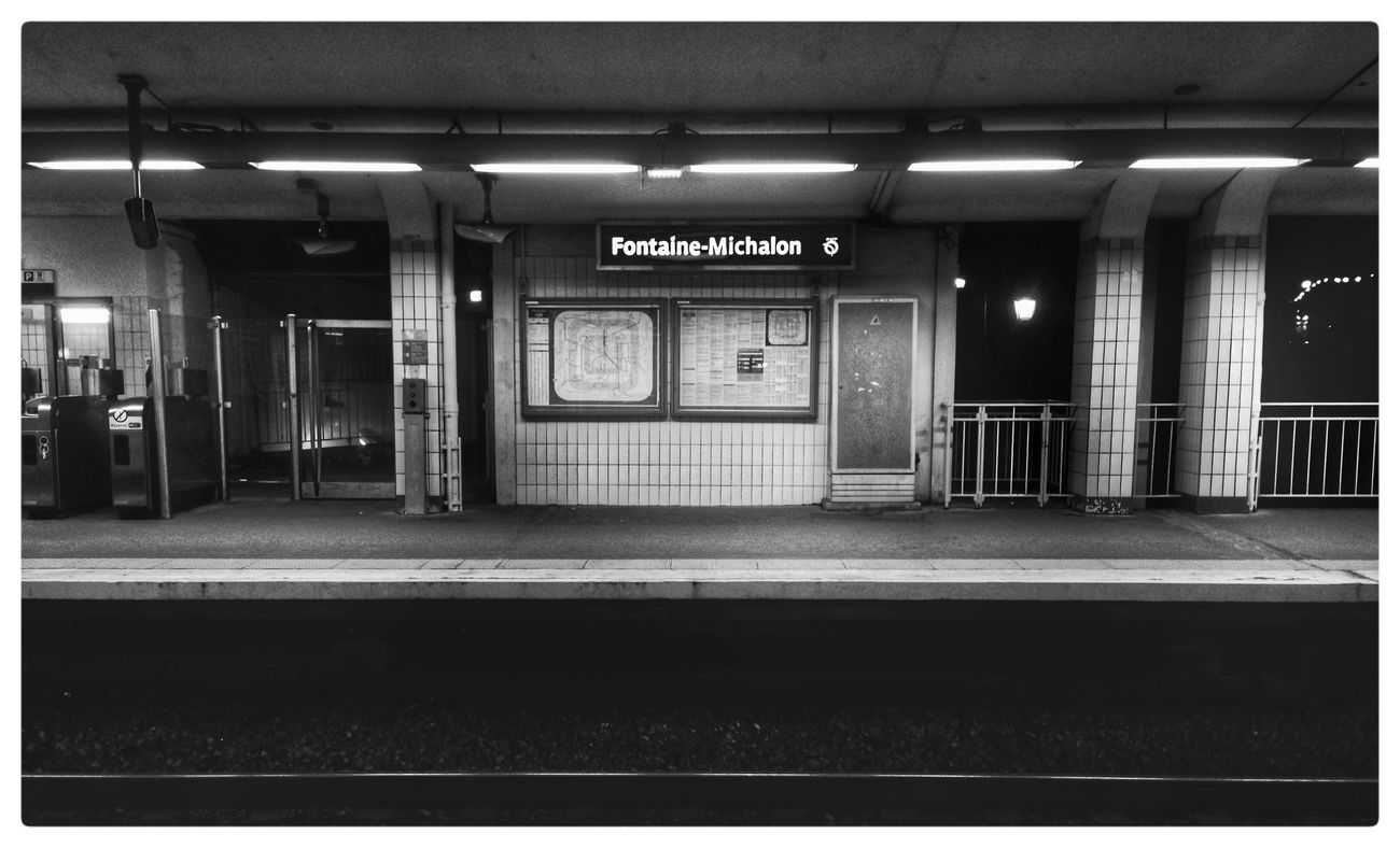 Fontaine Michalon Train Station
