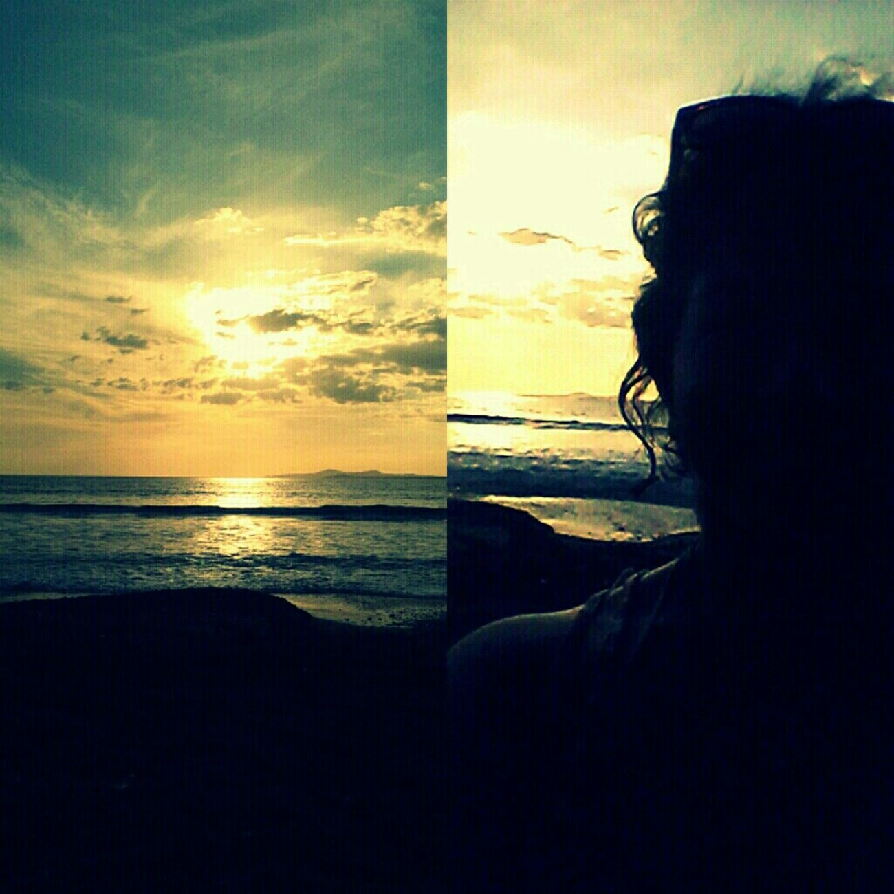 #beach #sky #sunset #water #sun #enjoying The Sun %