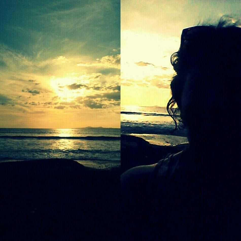 #beach #sky #sunset #water #sun #enjoying The Sun %