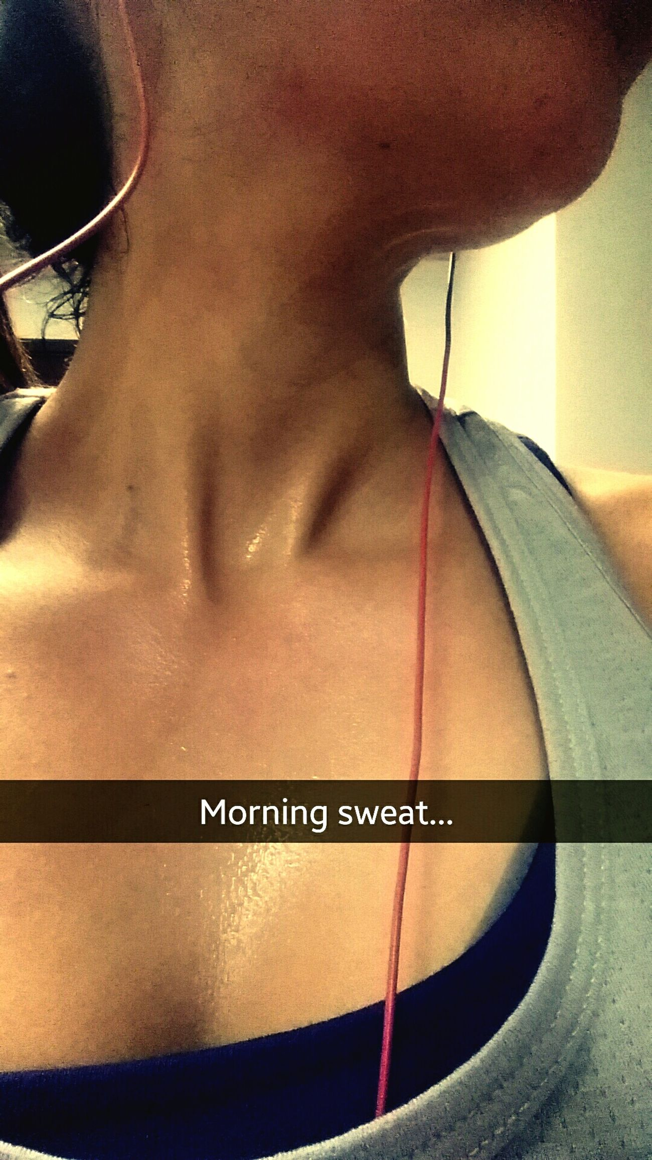 Sweat it to get it. Sweaty Gym Flow Working Out Werkit ProfilePic MorningWorkout