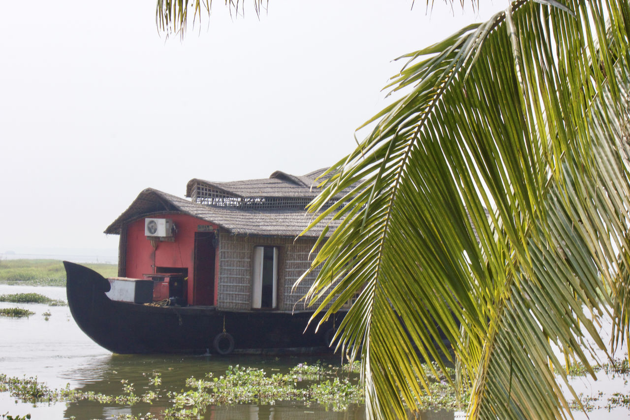 Beauty In Nature Boat Houseboat Kerala Lake Lake View Lakeshore Lakeside Life Lifestyles Natural Beauty Outdoors Palm Tree Plant Scenery Scenics Tour Tourism Tourist Tourist Attraction  Tranquility Tree Water Water Reflections Waterfront