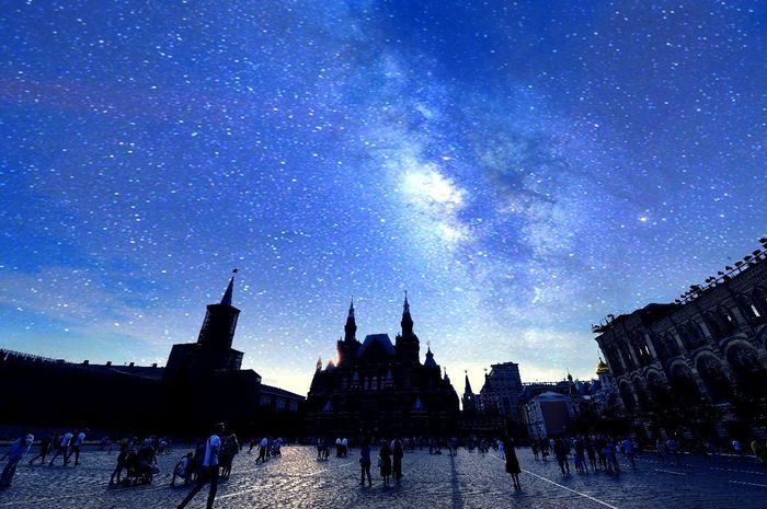 Architecture Night Travel Destinations History Sky Built Structure Silhouette Star - Space Outdoors Building Exterior Galaxy Astronomy People Large Group Of People Milky Way Nature Ancient Civilization City Adults Only Adult DubaicityAlamiriphoto Alamiri2012 Landscape Photographer
